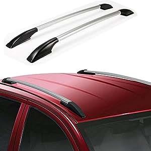 Accedre Car Stylish Drill Free Roof Rails Silver-Hyundai Creta - (All Years)
