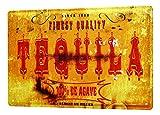 Blechschild M. A. Allen Retro US Deko Tequilla Mexiko Nostalgie Werbung 20x30 cm