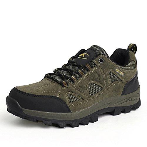 Outdoor sports and leisure chaussures randonnée outdoor chaussures/Glissez les hommes résistants/anti-dérapant usure chaussures D
