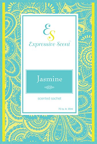 6Pack Jasmine Large Scented Sachet Envelope by expressive Scent