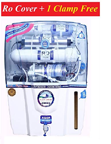 Grand Plus AQUAGRAND Audi RO+UF+UV+Mineral+TDS Controller 12 LTR ROUVUF Water Purifier- All Features_ RO Cover & 1 CLAMP Free