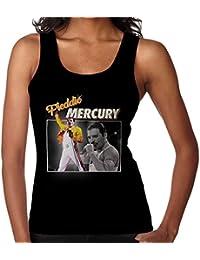 Freddie Mercury Queen Tribute Montage Women's Vest