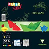 Clairefontaine Kit de nivel de Touch Easy Origami de papel, multicolor, 20 x 20 cm, hojas de 30