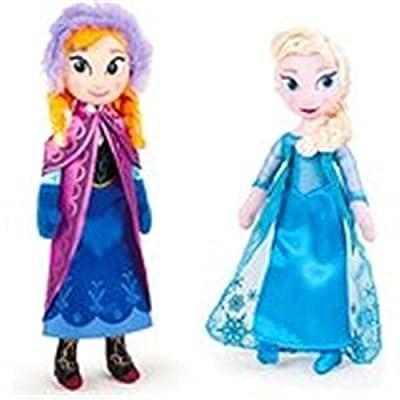 Pack De 2 Peluches Frozen - Elsa + Anna de QUIRON