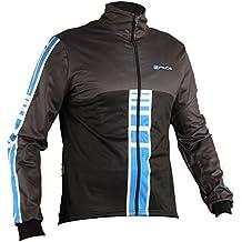 Giacca invernale ciclismo giubbino pesante windtex threeface Shape blu antipioggia impermeabile (L)