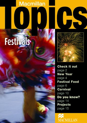 Topics elementary festivals. Per il Liceo scientifico