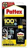 Pattex 100%, pegamento multimaterial transparente, botella 50gr