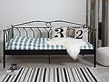 Einzelbett Tagesbett Bettgestell Jugendbett Kinderbett Bettsofa Metall'Linos I'