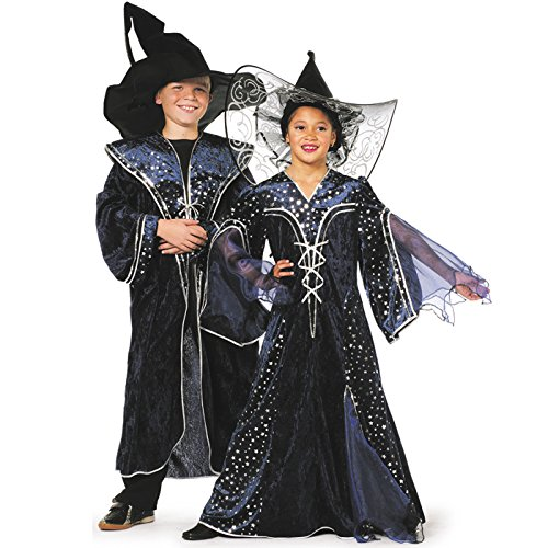 NEU Kinder-Kostüm Zauberer, blau, Gr. (Kostüm Kind Hexer)