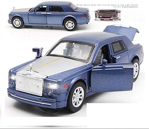 QRFDIAN Modèle de Voiture Phantom Rolls-Royce au 1/32 | Modèle de Voiture de Jouet en Alliage 3 Porte Ouverte Simulation Son et lumière pour Enfants modèle de Voiture pour Enfants | Modèle de Voiture | Moderne Et élégant