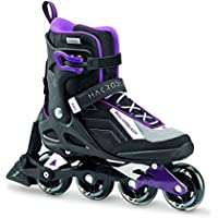 Rollerblade donna macroblade 80 ABT/W pattini in linea, Donna, MACROBLADE 80 ABT/W, nero/viola