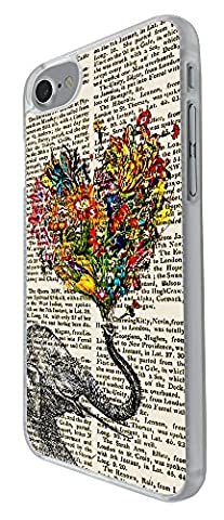 000571 - Funky Aztec Elephant Floral Trunk Love Heart Design For iphone 7 4.7