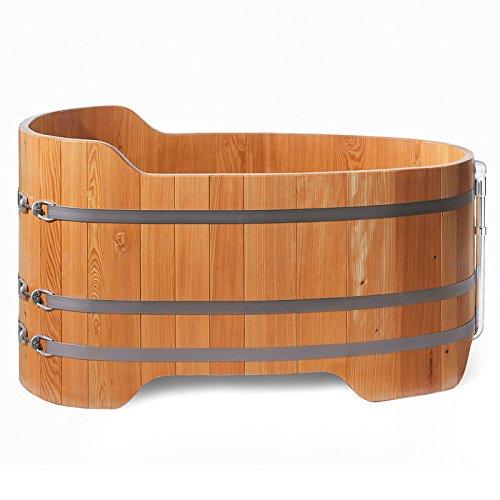 Holzwanne Holzbadewanne Holzzuber Badezuber Badewanne Lärchenwanne Holz Wanne