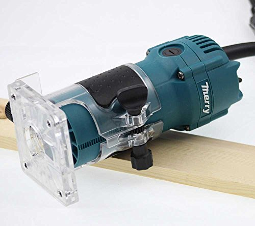 "100365 6MM 1/4"" Electric Hand Trimmer Wood Laminator Router Joiners Tools 220V"