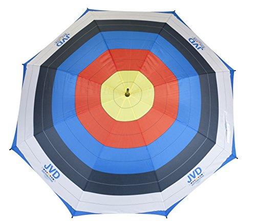 JVD Regenschirm - Bogensport-Design - Bogenschießen, Outdoor Target ø 133cm