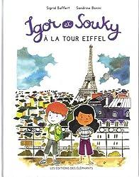 Igor et Souky à la tour Eiffel