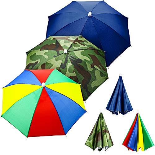 Regenschirm Hüte Camouflage Fishing Cap Sonnenschirm Stirnband (Style B) ()