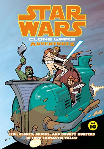 Clone wars adventures. Volume 10