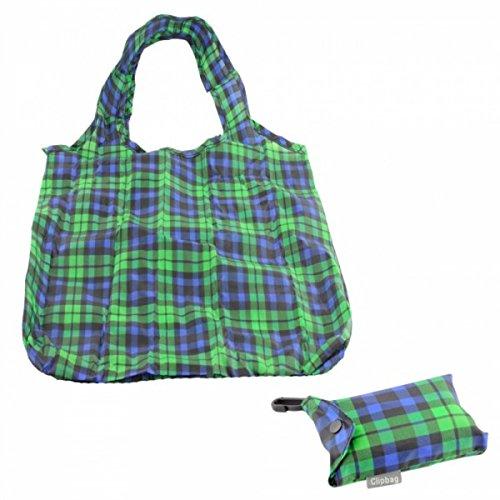 Clipbag Einkaufstasche/Beutel, umweltfreundlich, faltbar,