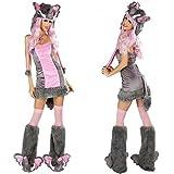 Gorgeous Halloween-Kostüm COS Plüschtier Elefant Spielkleid -Leopardkleid Maskerade Kostümen
