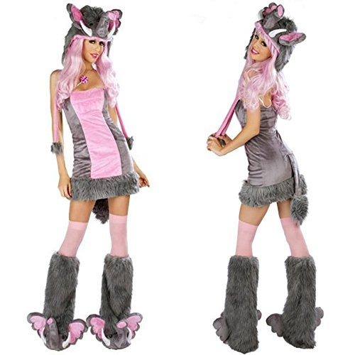 Gorgeous Halloween-Kostüm COS Plüschtier Elefant Spielkleid -Leopardkleid Maskerade (Halloween Kostüme Elefanten)