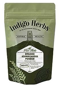 Organic Ashwagandha Powder - 100g (Certified Organic)