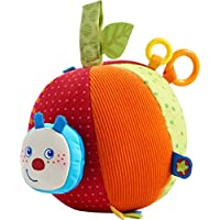 Haba Fabric Ball Caterpillar Mina, Baby Ball, 303219, Multicolour