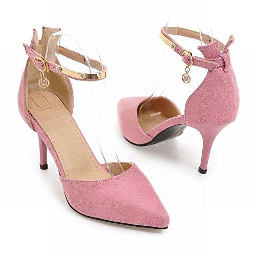 Mee Shoes Damen Stiletto Schnalle ankle strap Pumps