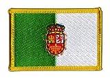 Aufnäher Patch Flagge Spanien Fuerteventura - 8 x 6 cm