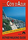 Cote d'Azur: Rother Walking Guide