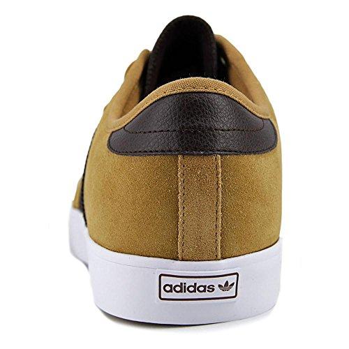 Adidas Adi-ease Skate Shoe, noir / noir / écarlate, 4 M Us Mesa-DBrown-FtwWht Mesa-MarFon-FtwBla