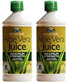 (2 Pack) - Aloe Pura - Aloe Vera Juice | 1000ml | 2 PACK BUNDLE