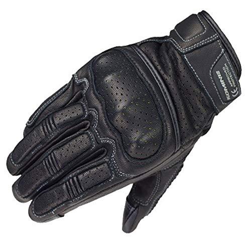 Hanggg Puro pelle di pecora primavera estate autunno e inverno retrò guanti in pelle traspirante guanti da moto locomotiva touch screen protettivo
