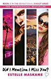 did i mention i miss you? the dimily trilogy book 3 by estelle maskame 2016 07 21