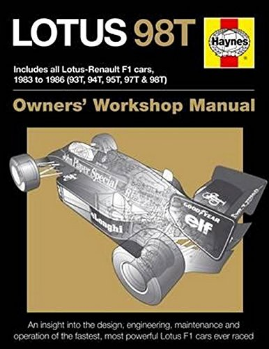 Lotus 98T Owners' Workshop Manual