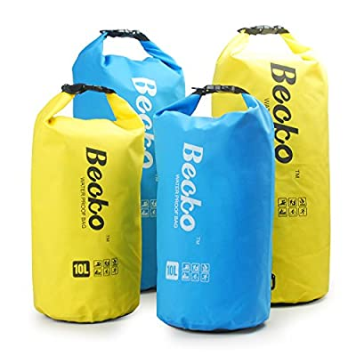 Becko Dry Bag, Waterproof Case Pouch Include Shoulder Strap for Swimming, Surfing, Fishing, Boating, Skiing, Camping and Other Outdoor Sports, Protest Your Personal Item Against Water, Rain, Snow and Sweat by Becko