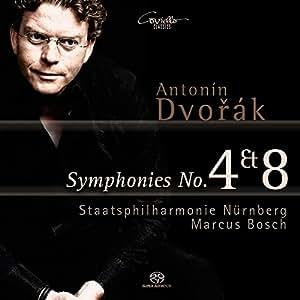 Dvorak : Symphonies N°4 et N°8