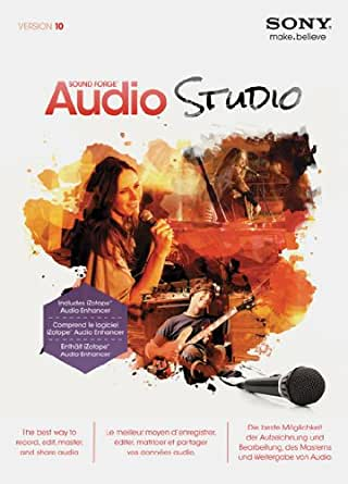 Sony Sound Forge Audio Studio 10 2013 Release [Téléchargement]