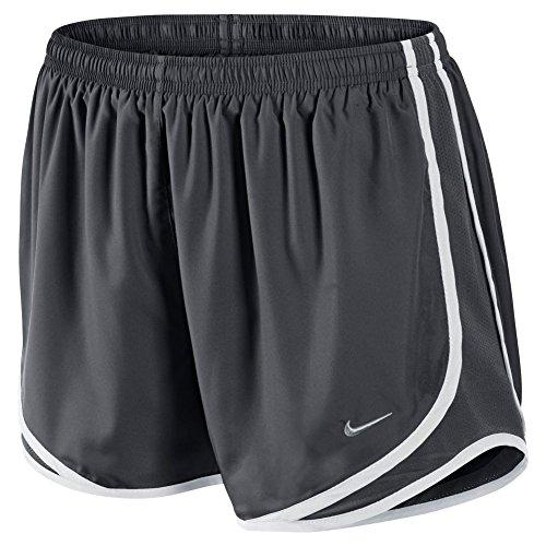 Nike Tempo Shorts Da Running Gris / Blanco