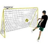 Kickmaster Premier Goal Ballspiel, Größe 244 cm