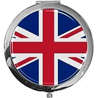 """metALUm - Extragroße Pillendose in runder Form""""Flagge Groß Britannien"""" preisvergleich bei billige-tabletten.eu"""