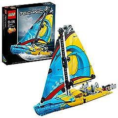 Idea Regalo - Lego Technic 42074 - Yacht Vela da Gara