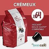 64 Capsules Italian Coffee Compatibles Nescafé Dolce Gusto (Cremeux)