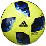 adidas Herren FIFA World Cup Glider Ball Yellow/Solar Blue/Bright Royal, 5