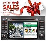 A-SURE 7' IPS Display 2GB RAM Android 8.1 Autoradio DVD GPS Auto Navigation Mirrorlink 1024*600 WiFi WLAN Bluetooth 4G OBD DAB+ DVB-T2 Navi Für Mercedes Benz VITO VIANO A B Class SPRINTER W169 W245 KUBABJ