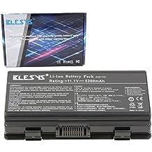 BLSYS - 5200mAh ASUS 70-NQK1B2000Z 90-NQK1B1000Y 90R-NQL1B1000Y A32-T12 A32-X51 batería del reemplazo del ordenador portátil ASUS X51H, X51L, X51R, X51RL, serie X58