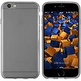mumbi TPU Schutzhülle für iPhone 6 6s Hülle transparent schwarz