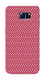 Samsung Galaxy S6 Edge Black Hard Printed Case Cover by Hachi - Beautiful Pattern Design