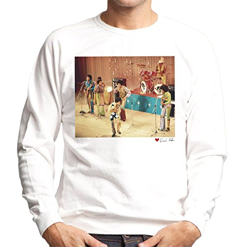 David Redfern Official Photography - The Jackson 5 At The Royal Variety Performance White Men's Sweatshirt