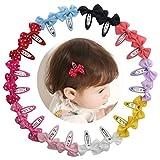 20 pezzi clip di capelli bambini Clips capelli bambina accessorio per capelli 2